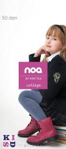 KNITTEX College мелланжевые колготки для девочек