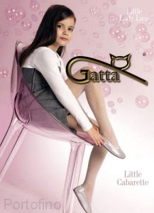 Litle Cabarette детские колготки в сеточку Gatta 20 DEN
