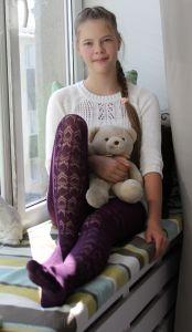 aloe vera (Рост 164/170) Колготки для девочек. 540-004G. Rewon (Польша)