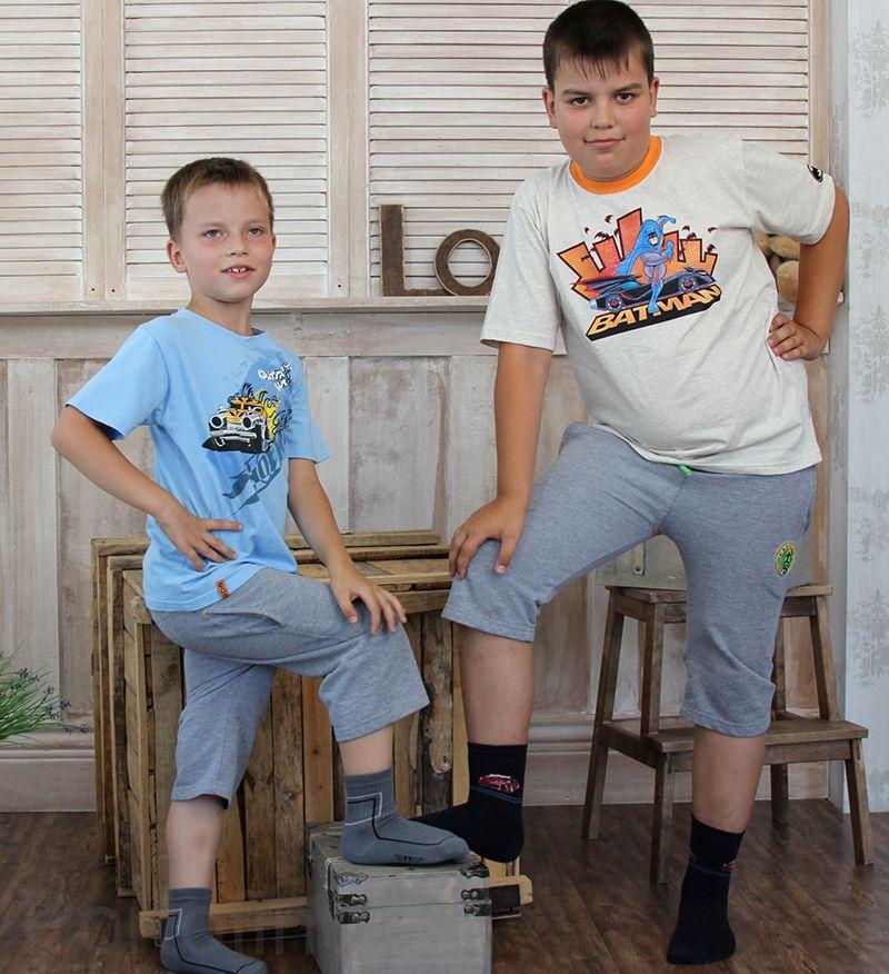 109-002 Размер 33-35 (21-22 см ) Носки для мальчика Rewon с компьютерным рисунком
