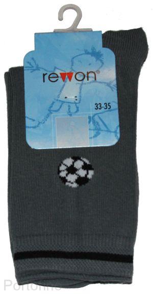 109-002 B  Размер  27-29 (17-18 см )  Носочки для мальчиков  с компьютерным рисунком Rewon (Польша)