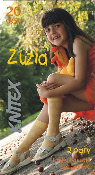 Zuzia Knittex  гольфы жаккардовые для девочек.20 Den (2 пары в упаковке)